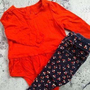 BabyGap Top and Corduroy Pants 6-12M